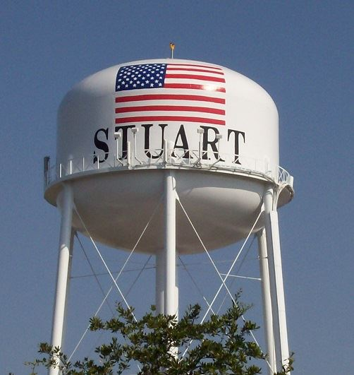 City of Stuart Water Tower