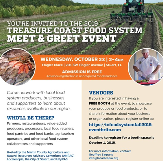 TC Food System Meet and Greet Event