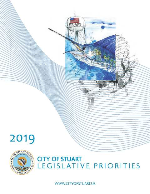 2019 City of Stuart Legislative Priorities Brochure