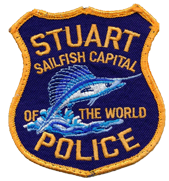Stuart Police badge