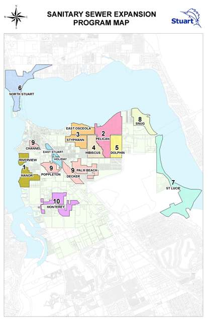 Sanitary Sewer Expansion Program Map (PDF) Opens in new window